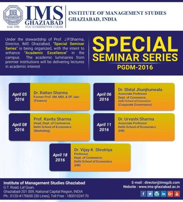 Special-Seminar-Series