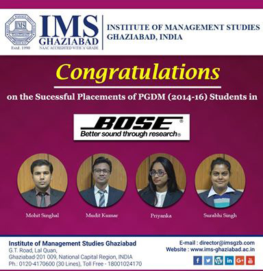 Bose-hired-IMSians!!!
